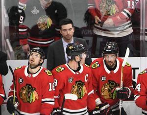 Det blev förlust till slut, trots att Chicago kom tillbaka starkt. Foto: AP Photo/David Banks