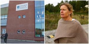 """Vid en extra bolagsstämma i december väntas ett beslut om en extra aktieutdelning från Nybo till Nykvarns kommun. """"Det blir en utmaning för oss när hela vinsten går till ägaren"""", säger Janette Jardefalk."""
