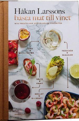 """Håkan Larsson, som är vinredaktör på magasinet Allt om Vin. I sin nya bok """"Håkan Larssons bästa mat till vinet"""" delger han läsarna sina bästa mat/vin-kombinationer."""