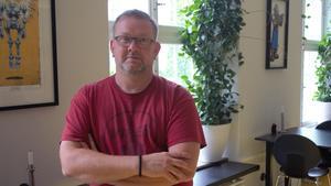 Vd:n och grundaren till lokala företaget Tension Magnus Björkman.