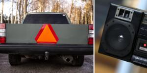 Epa-traktorer med hög ljudvolym stör insändarskribenten.