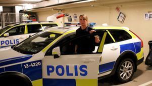 Sara Devall, gruppchef för områdespoliserna i södra Ångermanland.