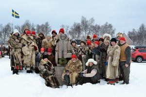 Här är 2019 års deltagare från Klövsjö Forbönder. Foto: Anna Karin Bodell