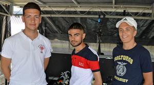Rami Alanzawi, Azhi Azizian och Jonathan Olofsson är engagerade i förberedelsearbetet.