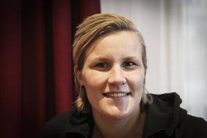 Johanna Pettersson sluta som spelare i Skutskär, men fortsätter träna laget.