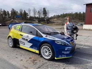 Anders Michalak ligger sjua i Rx2-klassen efter första deltävlingen med 13 inkörda poäng.