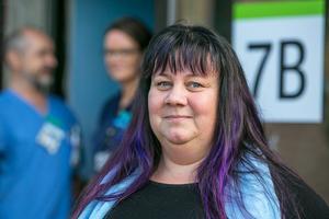 """Regionpolitikern Marie Svensson är nöjd med att det till sist blev som Vänstern ville. """"Verksamheten är livsviktig och ökar jämlikheten i vården i Region Jämtland Härjedalen"""", säger hon."""