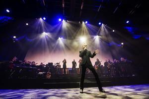 Under två dagar fyller Björn Skifs Fjällräven Center med showen