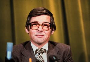 Folkpartiets Ola Ullsten (1931-2018) var statsminister 1978-1979
