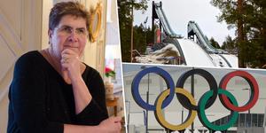 Dalarnas landshövding Ylva Thörn är positiv till ett eventuellt OS i Sverige och Falun 2026. Bilden är ett montage.