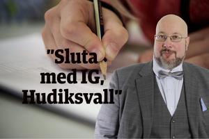 Det här är en ledartext av Patrik Oksanen, politisk redaktör på Hudiksvalls Tidning (c).