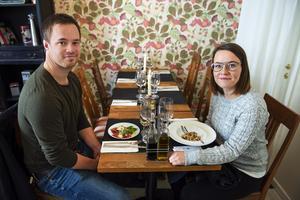 Simon Söderberg och Pernilla Granskog på Dolcetto.