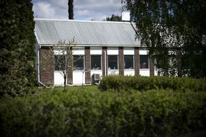 Lokalen i Hosjö där mordet, enligt polisutredningen, skedde 2004. mc-klubben X-teams har för länge sedan lämnat huset.