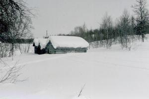 Gröndalen i vinterskrud. Foto: Bo Lundmark