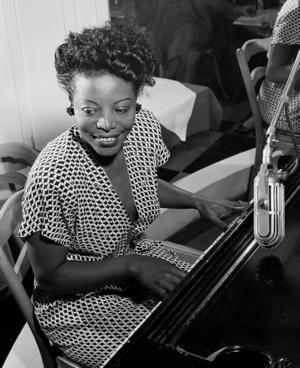 Jazzlegenden Mary Lou Williamson hyllas. Foto: Privat