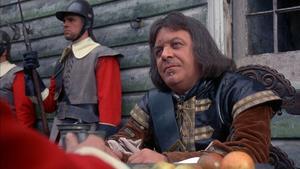 Patrick Wymark spelar Oliver Cromwell i