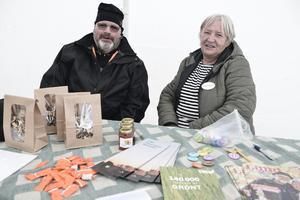 Ove Bergman och Birgitta Bredesen berättade om LRF och deras verksamhet.