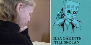 """Boken släpps den 30:e oktober på Elsas namnsdag.  """"Det kändes som att det var meningen att den ska släppas då"""