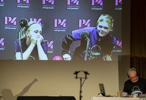 Tufft att tappa på sista frågan, Saga Berglund och Markus Skröder från Domsjö gav motståndarna en riktig match.