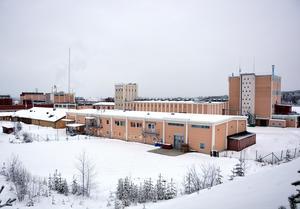 Fabriksområdet i Alby.