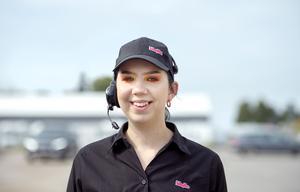 Frida Halunen, 19 år, hamburgerkock, Sidsjö