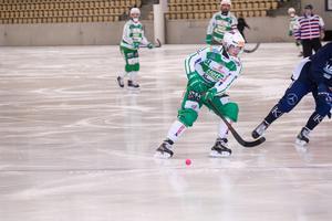 Daniel Johansson var en av debutanterna i VSK.