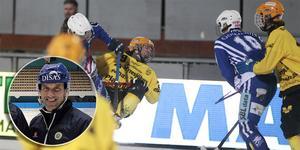Mattias Rehnholm tror på en tät match på söndag när topplagen i juniorelitserien drabbar samman.