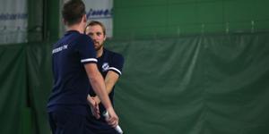 Tjeckiska dubbelparet Antonin Bolardt och Lukas Jedlicka vann båda sina matcher i raka set i helgen.