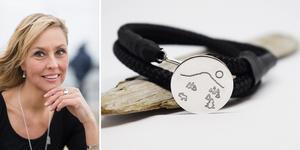 Smyckesdesignern Åsa Backman med rötter i Örnsköldsvik släpper under fredagen armbandskollektionen Tampas tillsammans med designern Camilla Thelin från Örnsköldsvik.