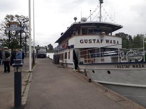 M/S Gustaf Wasa. Foto: Läsarbild