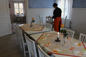 Veronika Kindström trivs som bäst på ställen som gästgiverier och värdshus.