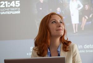 Valeria Egoshina är undersökande reporter på
