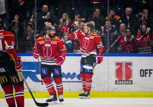 Nick Ebert och Rodrigo Abols har lämnat Örebro för spel i NHL. Nu kan fler följa efter. Bild: Johan Bernström/Bildbyrån