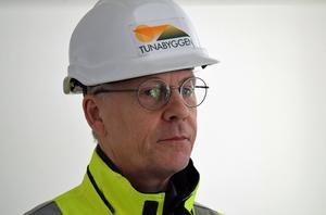 Arne Andersson, byggprojektledare.