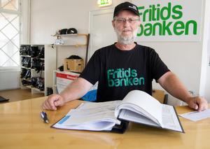 – Från förra vintern till vintern nu 2019 så hade vi en ökning av utlåning med 110 procent, säger Dan Granlie på Fritidsbanken i Arboga.