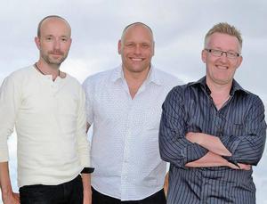 Holmsten Trio med Stefan Bonér, Mikael Holmsten och Per-Åke Stockberg. Bild: Privat