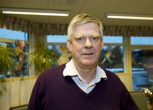 Jan Örtlund trivdes som rektor på Bålbroskolan. Foto: Bo Åhs