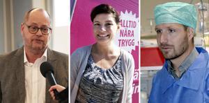 Kurt Pettersson, Petra Lindstedt och Anders Setterqvist bemöter kritiken från Pia Lundin.