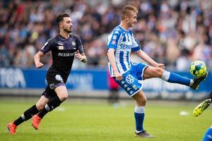 Simon Amon är steget efter IFK Göteborgs anfallssensation Benjamin Nygren. Foto:Bildbyrån