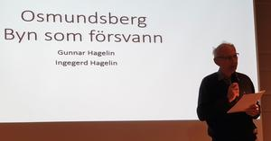 Gunnar Hagelins föreläsning var mycket populär.