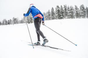 Spannet på en skida är viktigt så man inte får bakhalt.