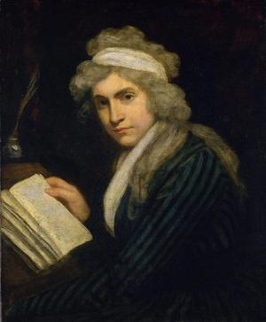 Mary Wollstonecraft 1791. Målning av John Opie.