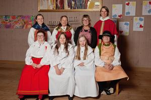 Du- och jag-gruppen har den 27 oktober konfirmerats  i Stiftsgården i Rättvik. Foto: Lisa Nygårds.
