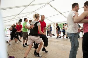 Danslägret lockar dansare från hela världen. Bilden är tagen år 2012.