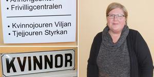 Lotta Fält är verksamhetsledare på kvinnojouren Viljan i Ljusdal. Sedan i somras är Ljusdalsföreningen knuten till huvudorganisationen Unizon.