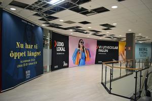 Andelen tomma butiker i centrum ska minska till 2025 är ett av målen.