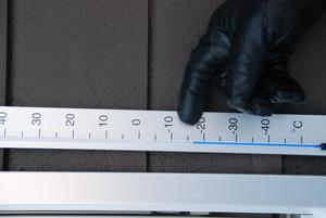 När LT besöker Rogard Göransson är det sjutton grader kallt. En köldgräns som uppstod vid Åsarnaspelen 1970.