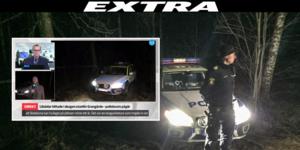 Likdelar från en människa har hittats i ett skogsområde mellan Bysjön och riksväg 66 vid Korsnäsberget i Grangärde.