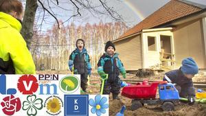 Föräldrakooperativet Gröna Hönan Torö är en pedagogisk omsorg som ligger i en flygel till gamla Torö skola. Bilden är från 2016 när verksamheten startade i januari.