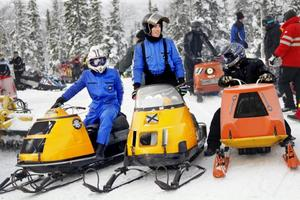 Moa och Filip Andersson tävlar för Team Rusch och är erfarna tävlingsförare.